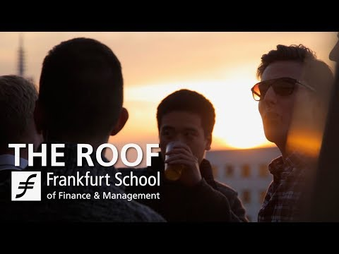 """Official opening of """"The Roof"""" - Frankfurt School"""