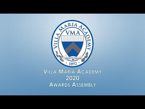Villa Maria Academy's Virtual 2020 Academic & Athletic Awards Ceremony