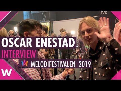 "Oscar Enestad ""I Love It"" Interview @ Melodifestivalen 2019 | wiwibloggs"