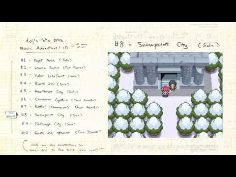 25 Minutes of Pokémon Piano! ^^ (#1: Pokémon DPPt)