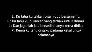 Tak Pernah - Fathia Latiff & Shukri Yahaya Karaoke (Guitar Only)