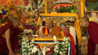 Sarwa Bi Vairochana – Kunrig Nampar Nangdze with Lama Nyitrul Tulku Rinpoche  (Tibetan – English) – 6 e 8 May 2018