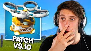WHAT THE HELL IS THIS? -Fortnite Patch Notes V 9.10