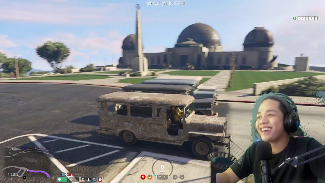 JEEPNEY RACING sa GTA 5!!   (haha lets go)