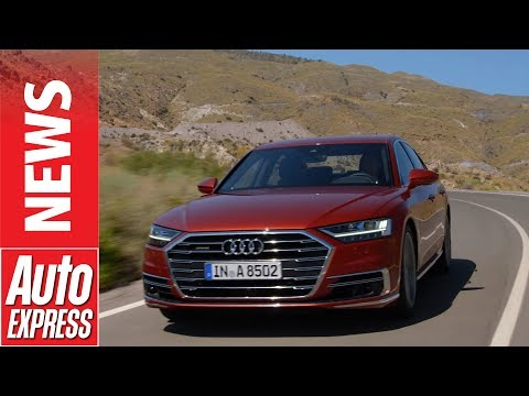 New Audi A8 revealed: luxury flagship offers new level of tech