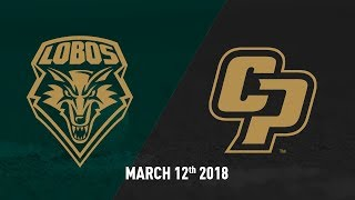 Cal Poly vs. University of New Mexico, Baseball Highlights -- March 12, 2018