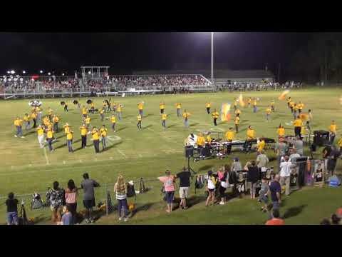 Ashford High School Marching Band 082517