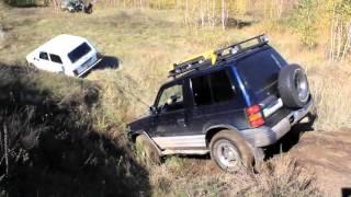 Nissan Patrol vs Mitsubishi Pajero vs Нива vs Уаз vs Hyundai ix35 Off Roading 4х4 смотреть