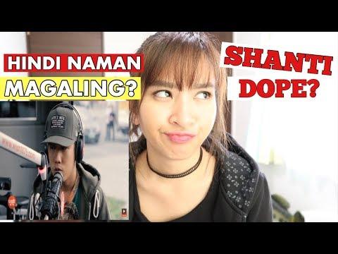 Shanti Dope performs