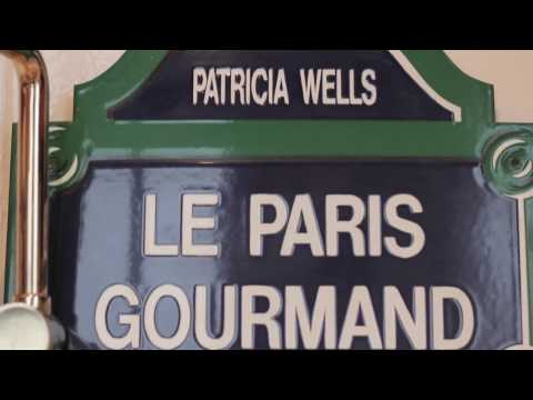Cooking with Patricia Wells in Paris