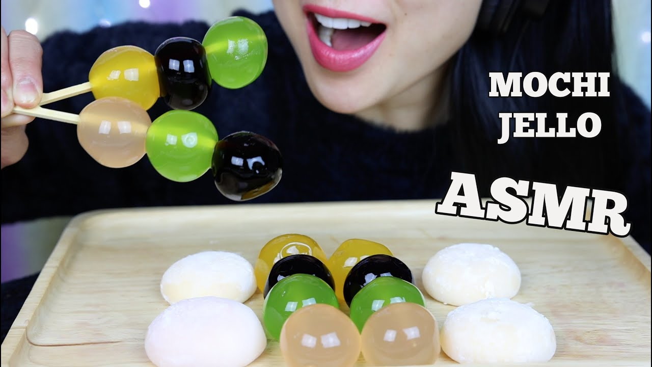 Asmr Mango Strawberry Mochi Kyoho Grape Jelly Eating Sounds No Talking Sas Asmr Youtube Easy mochi ingredients:1 cup of sweet rice flour1/2 cup sugar (you can put more if you want it sweeter)1/3 cup of watercornstarch for dustingparchment paperb. asmr mango strawberry mochi kyoho grape jelly eating sounds no talking sas asmr