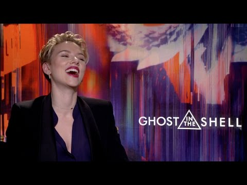 GHOST IN THE SHELL interview with Scarlett Johansson