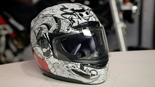ICON Airmada Miscreant Helmet Review at RevZilla.com