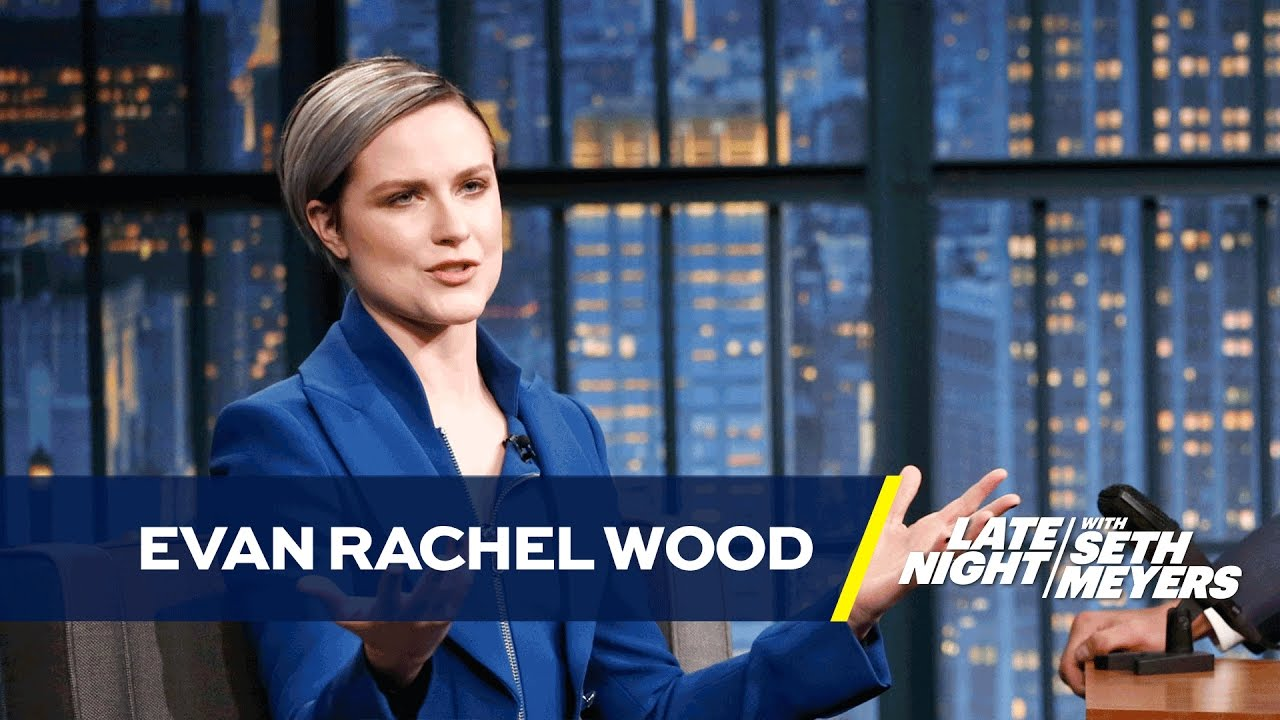 Evan Rachel Wood Calls Westworld the Acting Olympics - YouTube