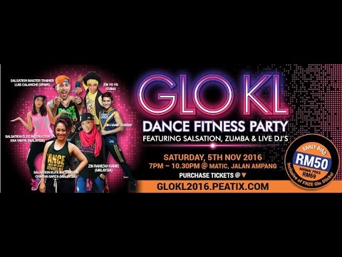 Dance your Hearts out with GloKL2016: Dance Fitness Party | All at MURFEST 2016