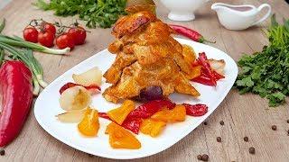 Куриное филе, запеченное в духовке