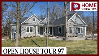 Open House Tour 97 - Custom Ranch Home Design at Retreat on Stony Creek in South Elgin