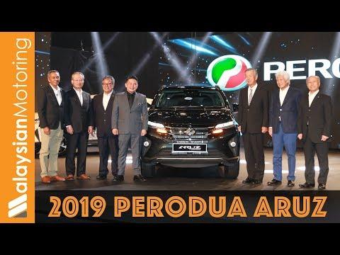 2019 Perodua Aruz Launched: RM73k-RM78k – #NewsUpdate
