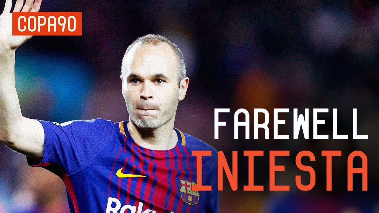 c0cb81fd19c Barcelona's Emotional Farewell To Andrés Iniesta - YouTube