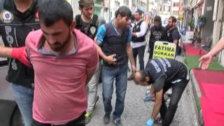 Polisten Kumkapı da Nefes Kesen Uyuşturucu Operasyonu