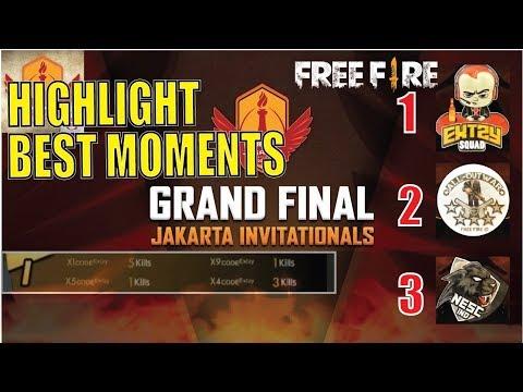 download HIGHLIGHT GRAND FINAL JAKARTA INVITATIONAL FREE FIRE 2018