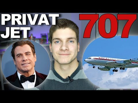 707 als PRIVATJET?! John Travolta!