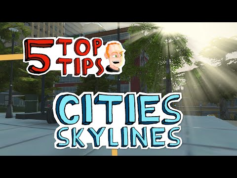 How to build an efficient subway or metro - 5 Top Tips for Cities: Skylines