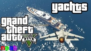 GTA 5 Yachts - The 1% Sucks