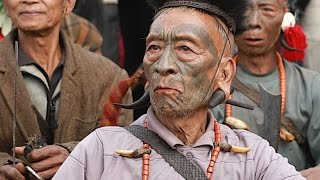 Headhunters of Nagaland, India - Konyak Tribe Celebrating Aoling Festival | VANISHING TRIBES