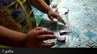 cara mudah membuat AQUARIUM unik dengan gelas minum
