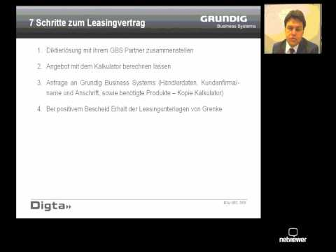 Grundig Business Systems - GBS-Leasing