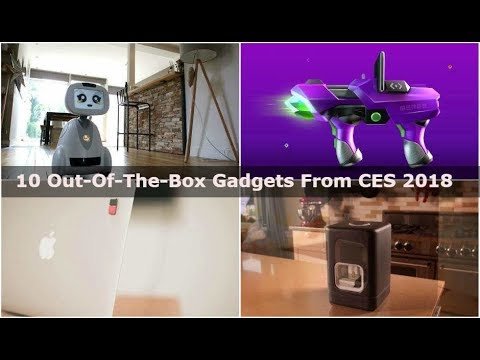 Best out-of-the-box Gadgets at CES 2018 | Digit.in