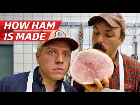 How Ham Is Made From A Whole Pig — Prime Time