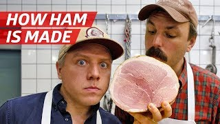 How Ham Is Made from a Whole Pig - Prime Time