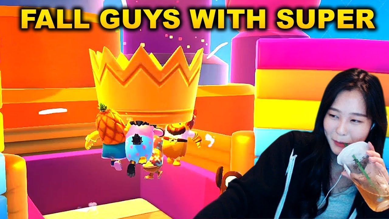 Fall Guys with Super