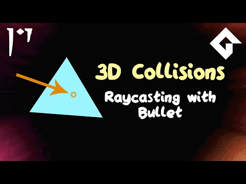 Raycasting With Bullet - 3D Games In Game Maker Studio 2