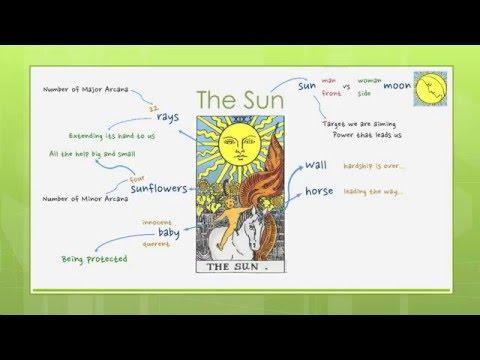 Reading Tarot Cards - Major 19: The Sun