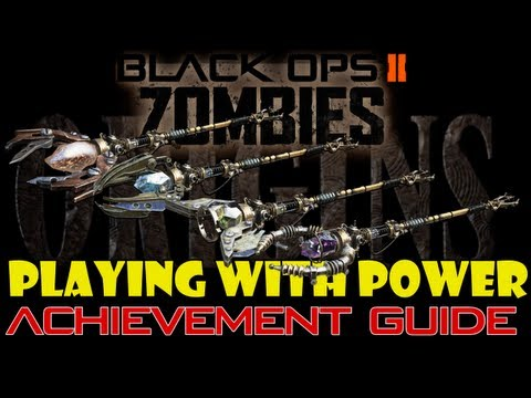 Playing with Power Achievement Guide | Black Ops 2 Zombies