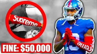 6 Accessories BANNED In The NFL This Season