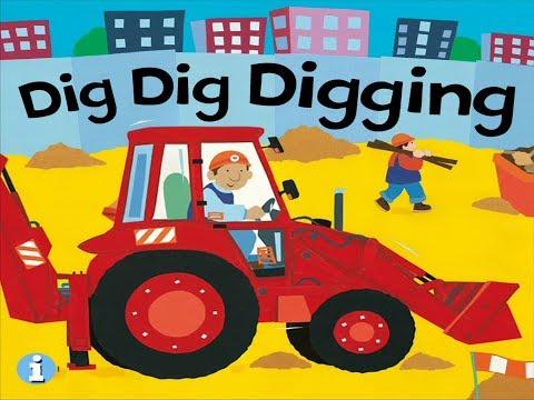 Dig Dig Digging - Animated Song