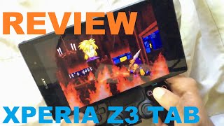 Review Xperia Z3 tab  emulation PSP/GBA/SATURN ps4 mount