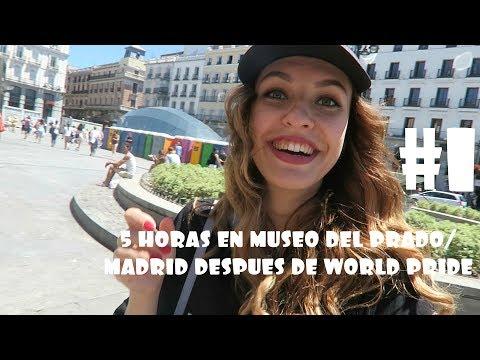 5 HORAS EN MUSEO DEL PRADO/MADRID DESPUÉS DE WORLD PRIDE/ASEOS DE TODOS COLORES#1