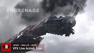 Thrilling VFX CGI Live Action Short Film ** ENGRENAGE ** Intense Thriller Film by ArtFx Team