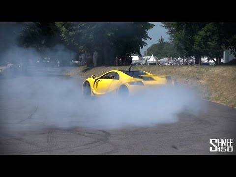 How to turn around supercars? DONUTS! GTA Spano, Noble M600, Sin R1