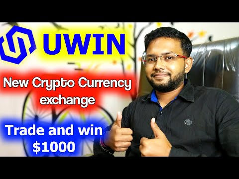 New Crypto Currency Exchange || Uwin Exchange Review|| Trade & Win 1000$| SHL Coin Good Opportunity|