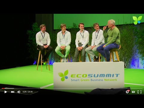 ECO15 Berlin: Corporate VC Panel EON Thermondo Sunfire Electranova Capital