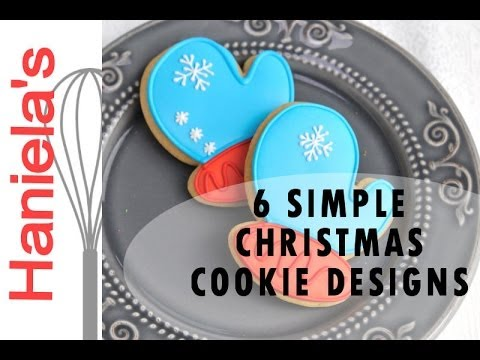 how to decorate simple christmas cookies decorating for beginners youtube - How To Decorate Christmas Cookies
