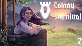 GOTTA STOP DEM ZOMBIES | Colony Survival | 02