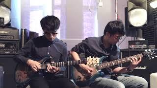 Polyphia - Champagne   Dual-guitar Cover