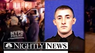 NYPD Shooting Leaves Officer In Critical Condition | NBC Nightly News